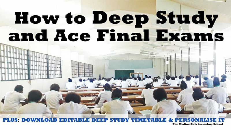 study for an exma guide