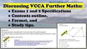 VCCA-Further-maths-Exam-Pap